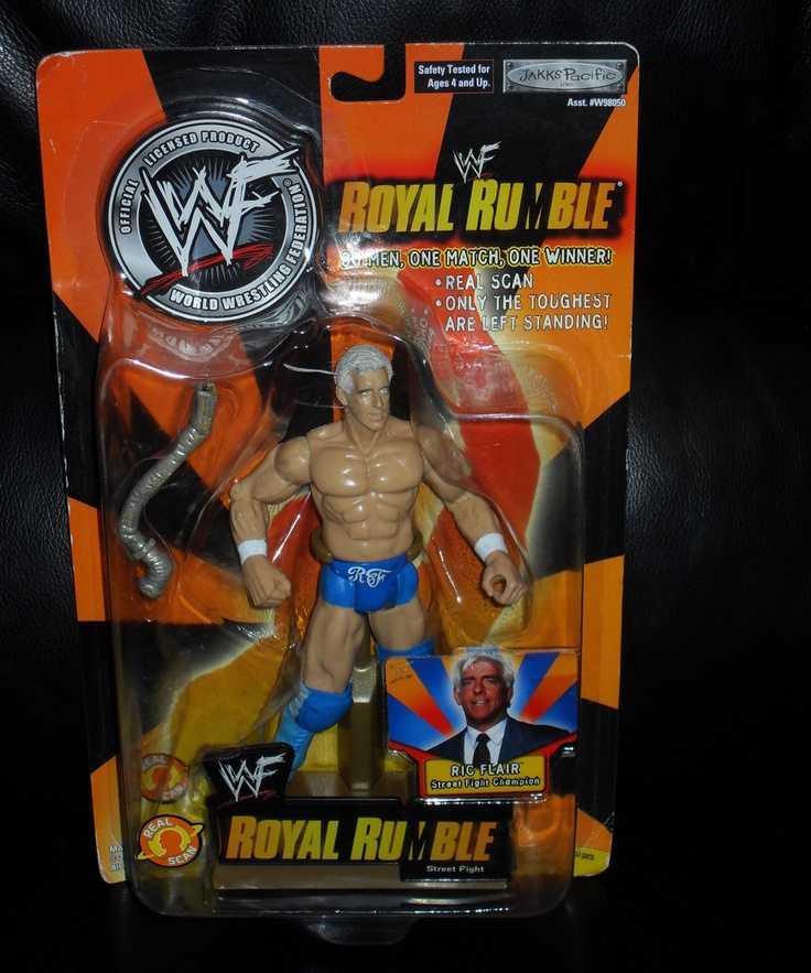 2002 WWE Ric Flair Royal Rumble Figure New In The Package  $19.99 via toyzfromthedarkside