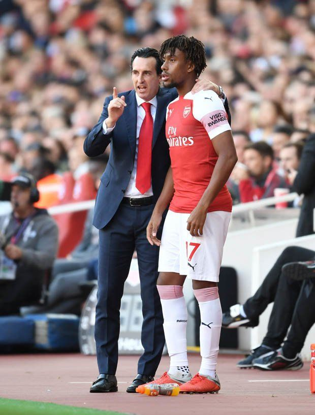 b0937ff51 Unai Emery Alex Iwobi Arsenal News