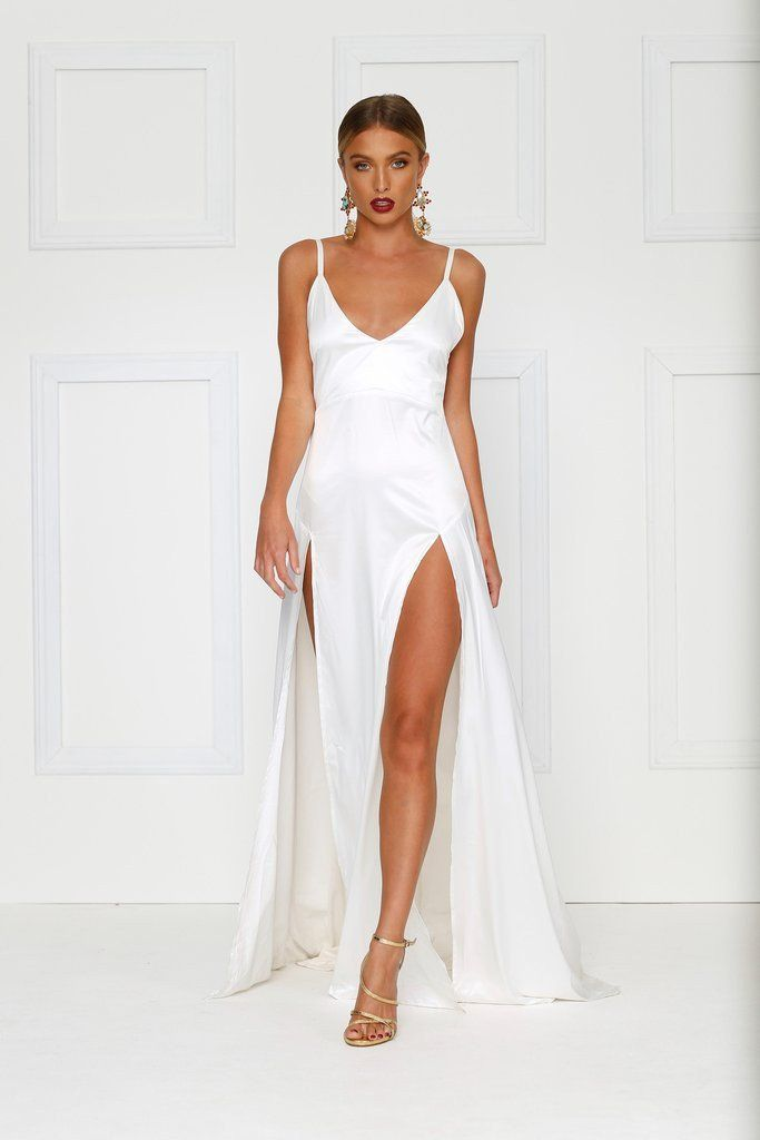 Alamour The Label - Alexis Gown - Ivory