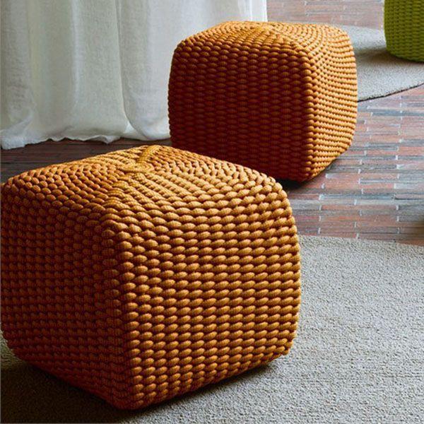 Pouf Tide - design CRS Paola Lenti - Paola Lenti