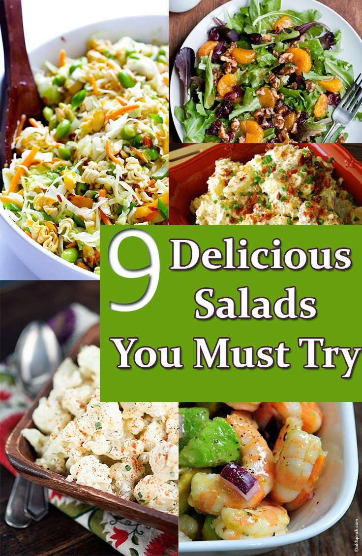9 Delicious Salads You Must Try