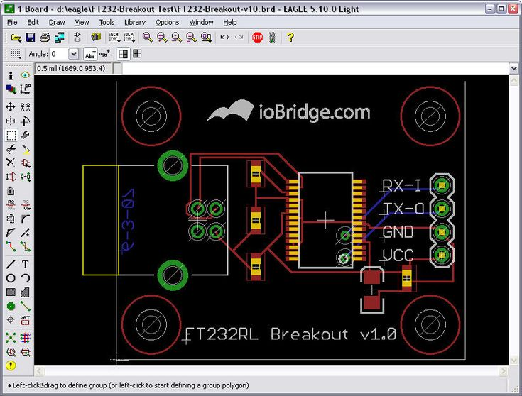Adding Custom Graphics to EAGLE PCB Layouts