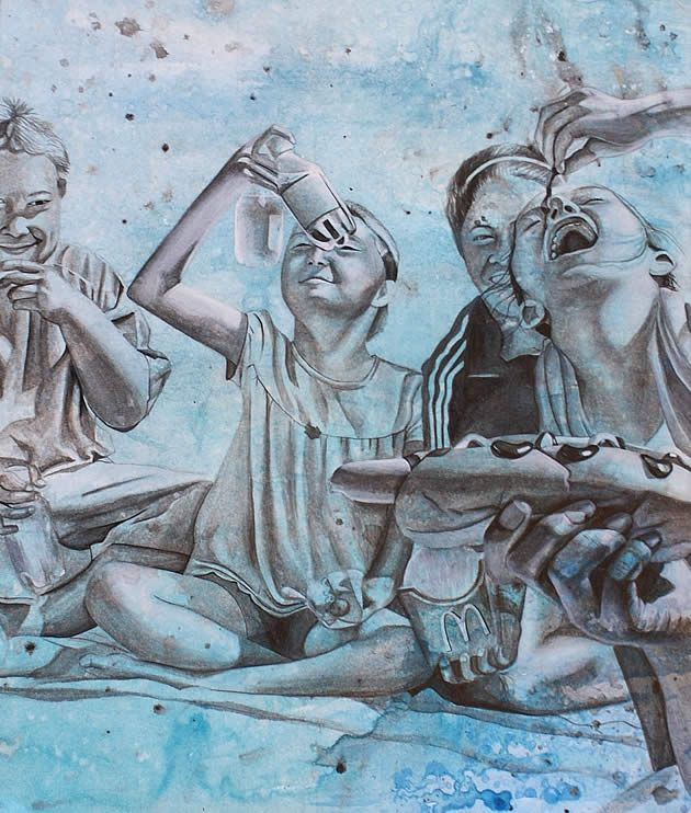 A Level Art Project: Obestity & Junk Food 98%