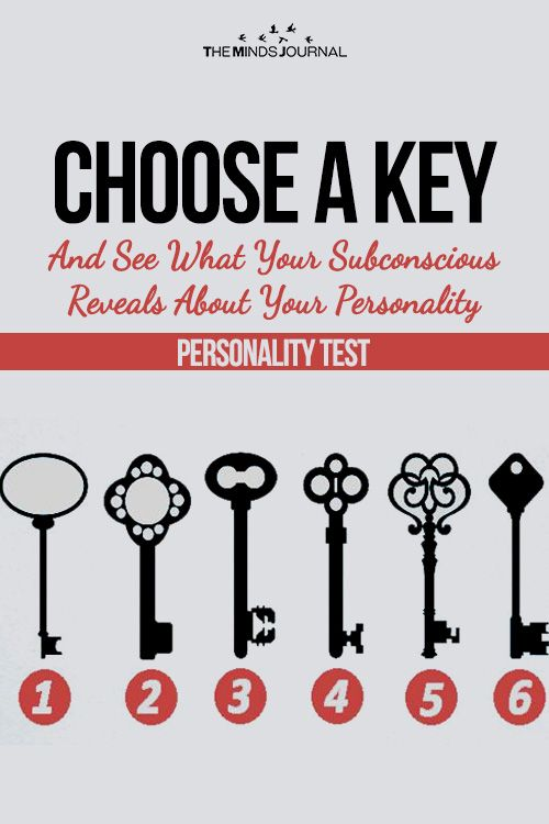 Choose A Key And See What Your Subconscious Reveals About Your
