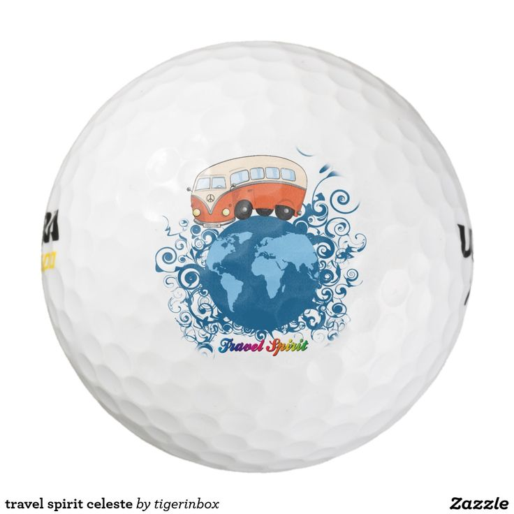 travel spirit celeste golf balls