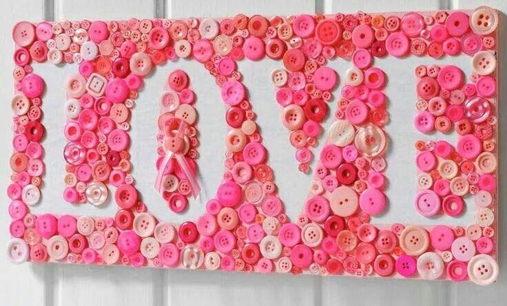 Love button sign Of met eerste letter van de naam