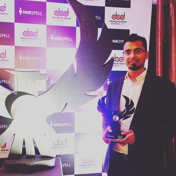 #ShoutMeLoud won the Best Blog award :) #award #blogging #blogger