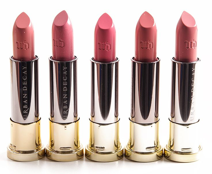 Urban Decay Native, Heartless, Brat, Naked, Morning After Vice Lipsticks Reviews, Photos, Swatches