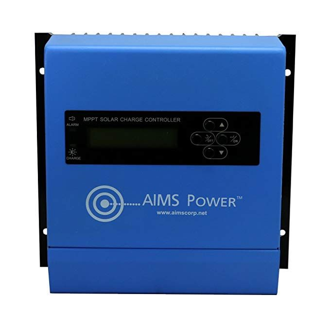 Aims Power Scc60amppt 60 Amp Solar Charge Controller 12 24 36 48v Review Power Control Aim