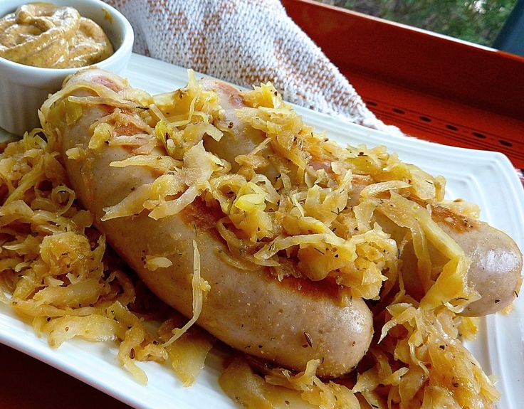 Is Sauerkraut Served Hot Or Cold On Hot Dogs