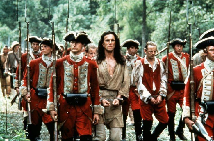 Le Dernier des mohicans - Daniel Day-Lewis