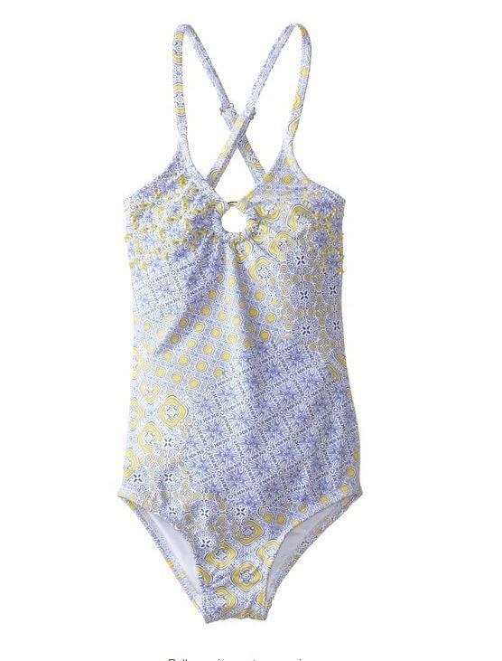 NWT Ondademar girls size 3 4 5 6 Etheral purple one piece swimsuit #Ondademar #Swimsuit
