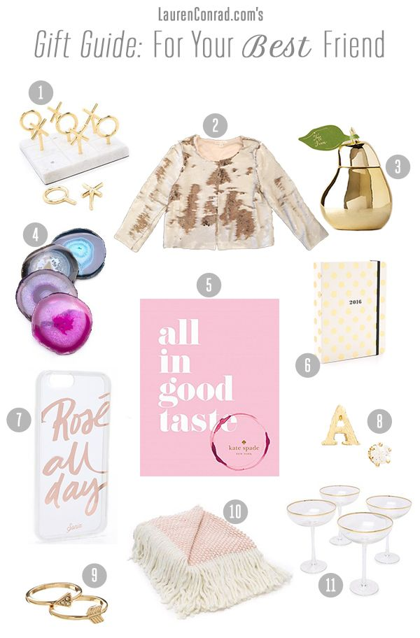 The ultimate holiday gift guide for your best friend