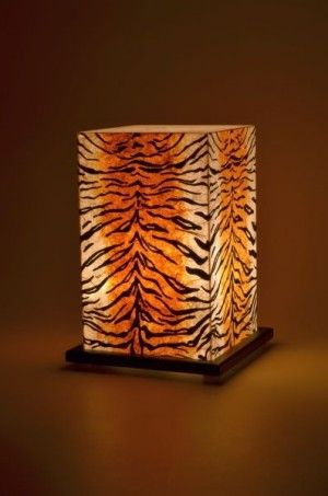 T for tiger table lamp