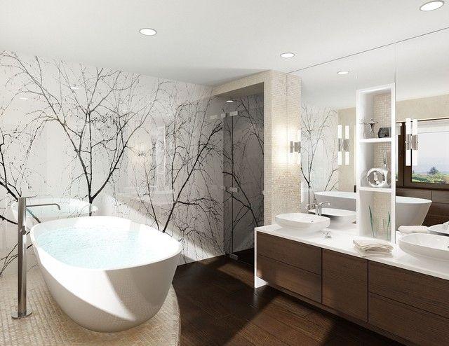 Badezimmergestaltung Mit Fliesen Interessante 14