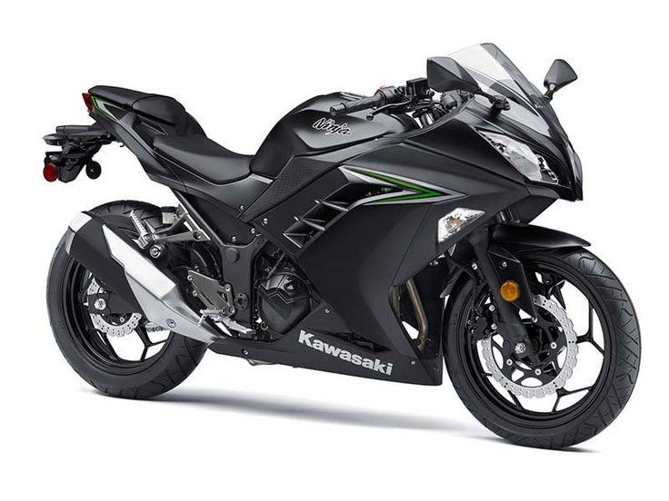 2016 Kawasaki Ninja® 300 ABS Metallic Matte Carbon Gray