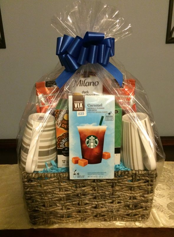 524 best gift basket and school auction ideas images on pinterest coffee gift basket gift basket ideas corporate gifts negle Choice Image
