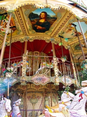 The Difference Between a Merry-Go-Round & Carousel: Merry Go Round, Carousel Delights, Nostalgic Carousel, Daily Post, Carousel Horses, Horses Carousels, Carousel, Animal