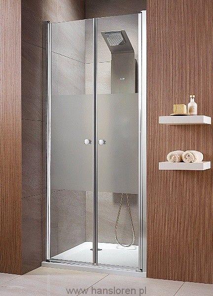 Eos DWD Radaway drzwi wnękowe dwuczęściowe ( wahadłowe) 790-810x1970 chrom przejrzyste - 37713-01-01N  http://www.hansloren.pl/Kabiny-prysznicowe/Drzwi-szklane-do-wneki/RADAWAY