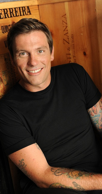 Chef Chuck Hughes ~ he's cute and he can cook