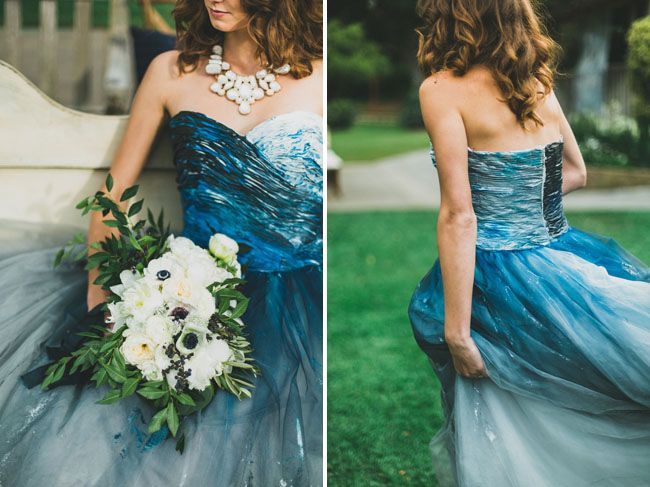 Modern Nautical Wedding Inspiration Dress Weddings And