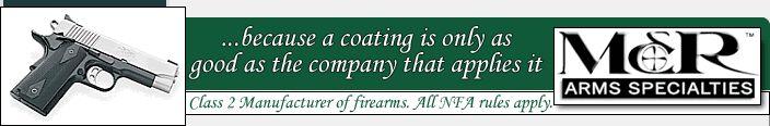 www.mrarms.com Titanium coating on slide