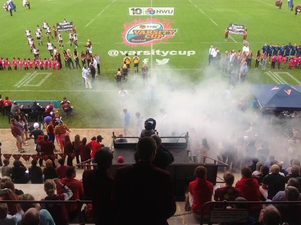 Varsity cup at Potchefstroom campus. Image supplied by North-West University.