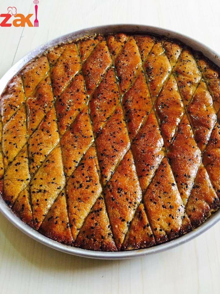 طريقة عمل صينية الحلبة زاكي Egyptian Food International Desserts Palestinian Food