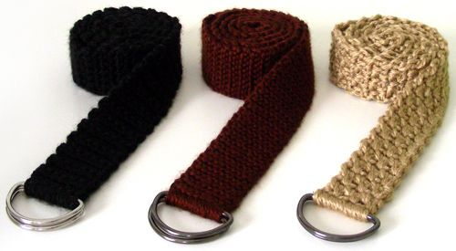 Crochet Spot » Blog Archive » Crochet Pattern: Everyday Adjustable Belts - Crochet Patterns, Tutorials and News