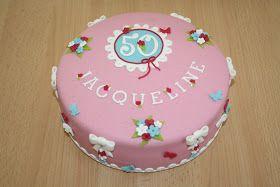 Karin's Taarten: Via-via-via-verjaardagstaart