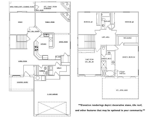Raylee Homes Floor Plans