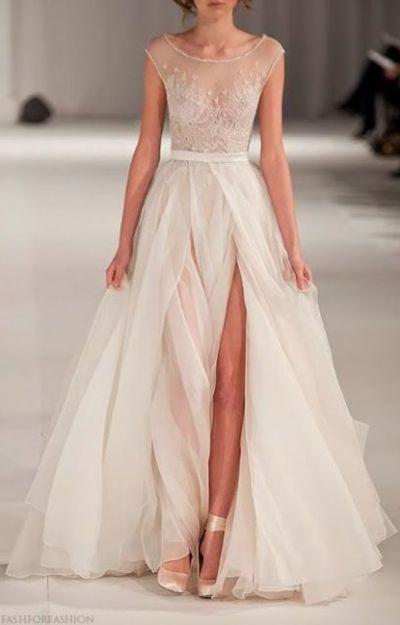 If I did a fuller skirt I'd want it to look like this.