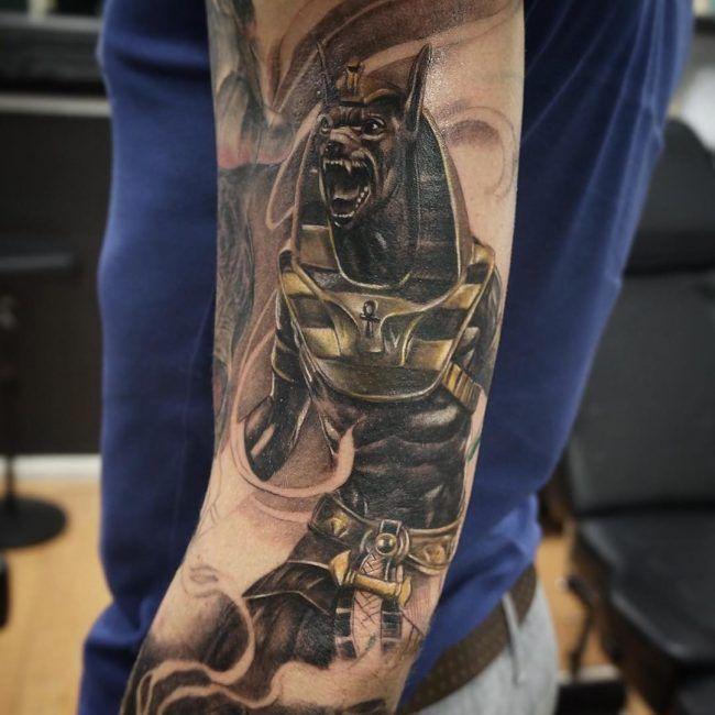 anubis tattoo31