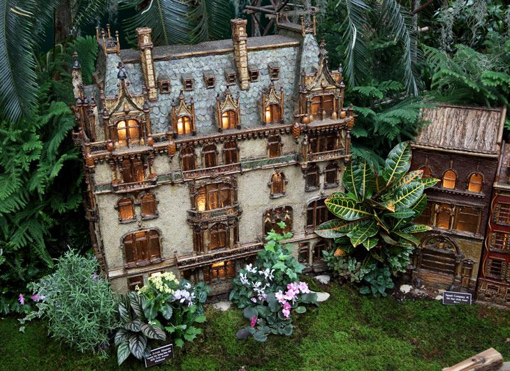84 best new york botanical tain show images on pinterest holiday train show botanical gardens for Ny botanical gardens train show