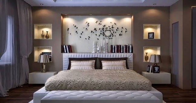Bedroom Wall Decor Ideas 2019 Modern Bedroom Wall Decoration Ideas Bed Wall Design Trends 2019 Modern Bedroom Interior Modern Bedroom Design Bedroom Lamps Design Since A Bedroom Is Often Considered