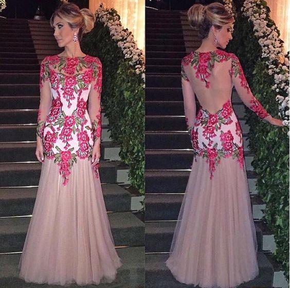 isabella narchi vestido com aplicação: