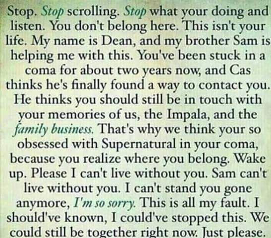 Supernatural Imagines, One Shots & Preferences : Photo
