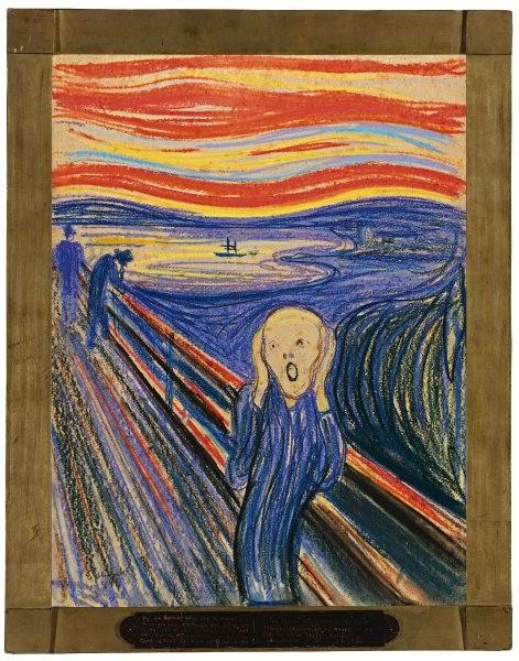 """Der neue Rekordhalter unter den höchsten Auktionserlösen für ein Gemälde ist Edward Munchs """"Der Schrei"""", das der norwegische Maler in vier Version fertigte. Ein unbekannter Käufer zahlte mit Gebühren knapp 120 Millionen Dollar für die einzige Version, die jemals in Privatbesitz war."""