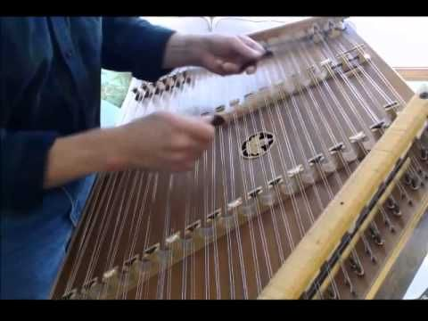 ▶ The Holly & the Ivy on hammered dulcimer by Timothy Seaman - YouTube