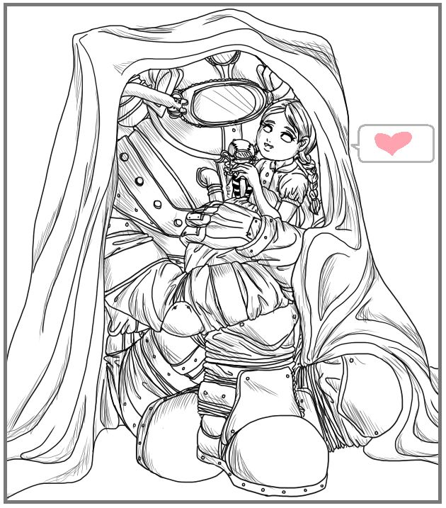Crap Bioshock 2 doodle for a friend. Edit: As much as I like faves, could you guys at least make the effort to comment? -_-