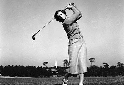 "Mildred ""Babe"" Didrikson Zaharias (1911-1956)    1939: Became the first woman to qualify for the Los Angeles Open golf tournament  A sort of triple threat, Zaharias was an all-American basketball player in her youth before going on to have triumphant careers in both track and field and golf. The seasoned athlete brought home two gold and one silver medal for the United States in the 1932 Olympics, where she competed in hurdles, javelin throw, and high jump."