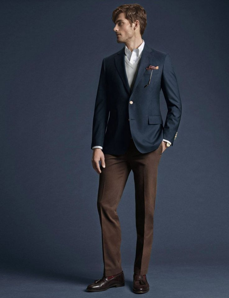 23 best images about Trouser Collection for Navy Blazer on