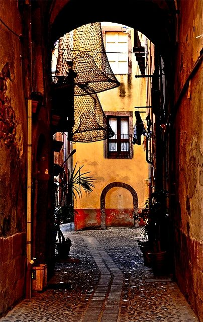 Amazing shot in Bosa, #Sardinia #Italy (by **Elle**) ~ Tell me you're not up for a trip right now ;)