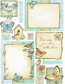 Laminas Decoupage: TONS of free labels!