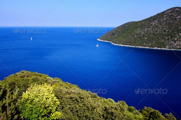 Blue Sea View