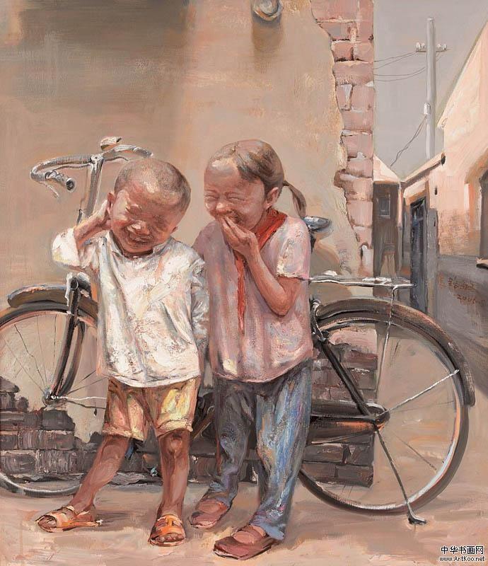 Feng Lu Min chinese art kids
