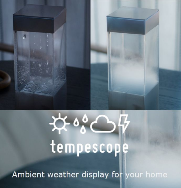 tempescope weather imitator ambient weather display price cost