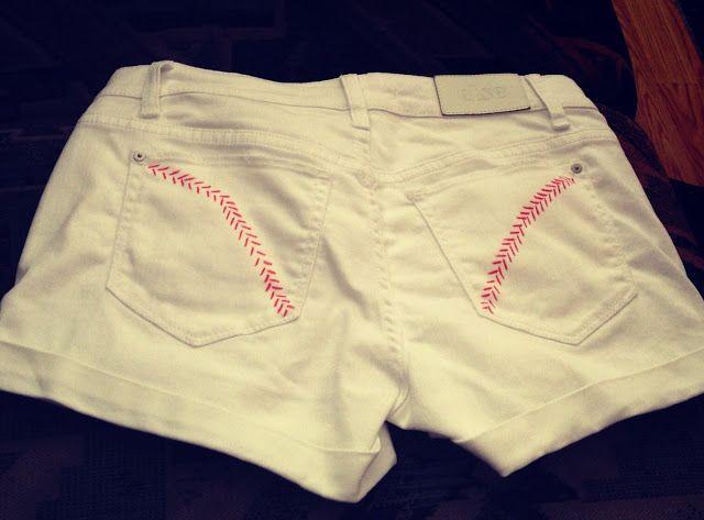 DIY Baseball Shorts!