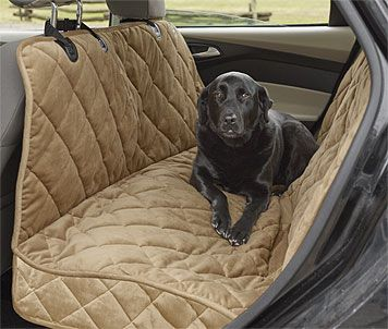 Just found this Dog+Car+Hammock+-+Deluxe+Microfiber+Car+Hammock+Seat+Protector+--+Orvis on Orvis.com!