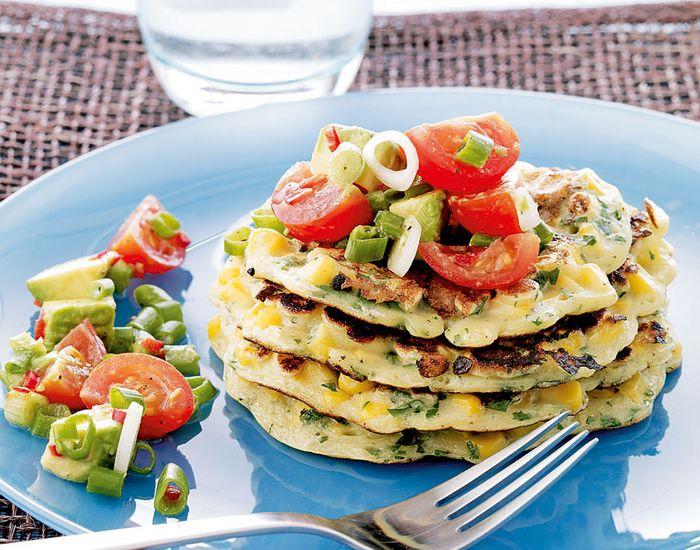 Prøv opskriften på disse lækre majspandekager, der giver dig en behagelig mæthed og spicer din brunch op.